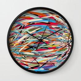 Scribble - dribble Wall Clock