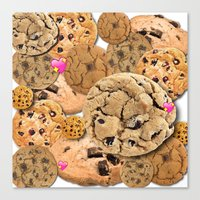 cookies Canvas Prints featuring Cookies by jajoão