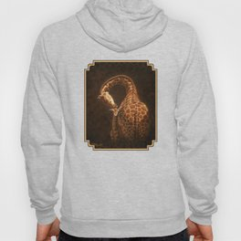 Reticulated Giraffe Mother and Baby Hoody