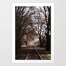 Sacramento Southern Railroad Art Print