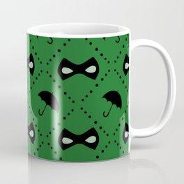 Green 'Umbrella Academy' Art Print Coffee Mug