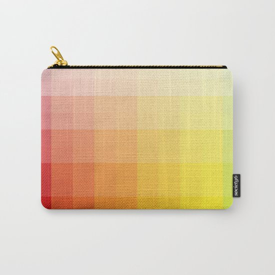 citrus pixelate Carry-All Pouch
