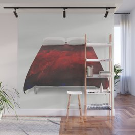 Cool Red Duvet Cover Wall Mural