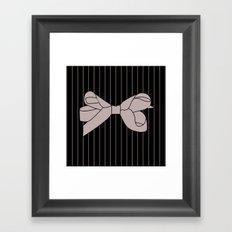 Ribbon 4 Framed Art Print