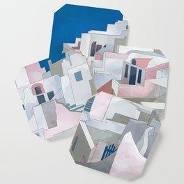 greece houses santorini Coaster