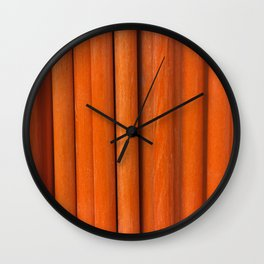 Sticks, Fashion Textures Wall Clock
