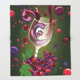Taste Test - Mixology Series Throw Blanket