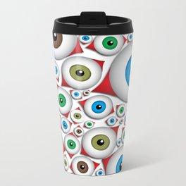 The Eyes Have It Metal Travel Mug