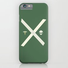 Mulder and Scully (green) Slim Case iPhone 6
