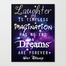 Quote Canvas Print