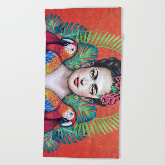Frida Beach Towel
