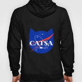 CATSA Cat Universe Space science T shirt Hoody