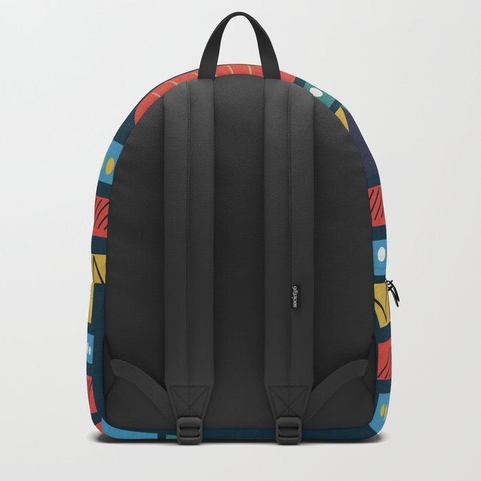 Ethnic Pattern Backpack