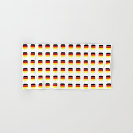 Flag of Germany -with soft square Hand & Bath Towel