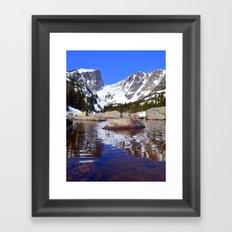 Rippled Reflection Framed Art Print