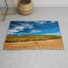 Finger Lakes Region HDR autumn beautiful nature New York USA America Rug