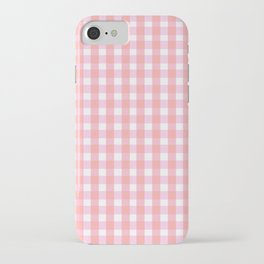 Pink Gingham iPhone Case