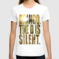 django T-shirts featuring Django Unchained by SB Art Productions