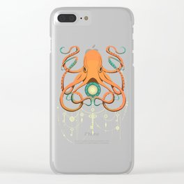 Timeless Octopus Clear iPhone Case
