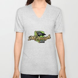 DilDough Beer Unisex V-Neck