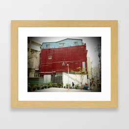 Kokusai Street Framed Art Print