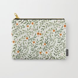 Oranges Foliage Carry-All Pouch
