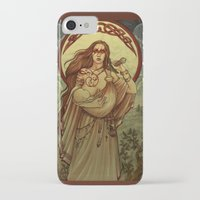 mother iPhone & iPod Cases featuring Mother by Natasa Ilincic