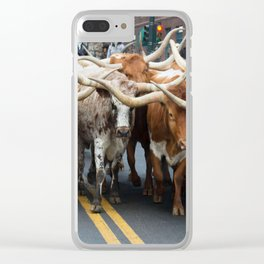 National Western Stock Show Parade Clear iPhone Case