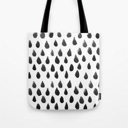 WATERCOLOUR RAINDROPS Tote Bag