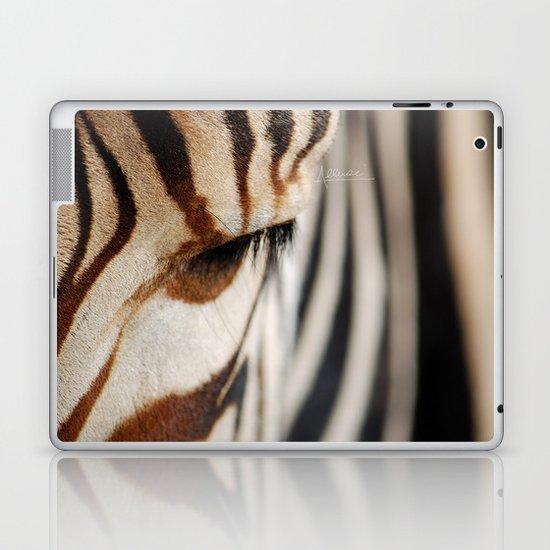 Zebra style Laptop & iPad Skin