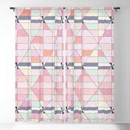 Sorbet Pinks Blackout Curtain