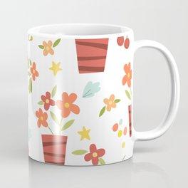 Kids Flower Pots Coffee Mug