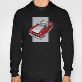 86 L-Body Charger Red Hoody