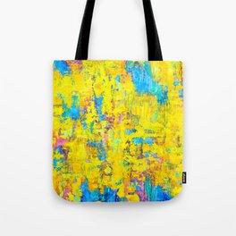 Wildthing - abstraktes Ölgemälde Tote Bag