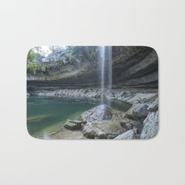 Waterfall in Austin, Texas Bath Mat