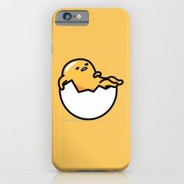 Lazy Egg 2 iPhone Case