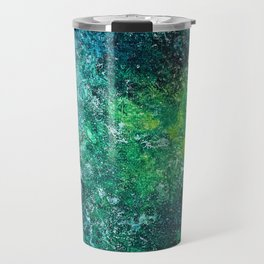 Color Fields: Mermaid Grotto Travel Mug
