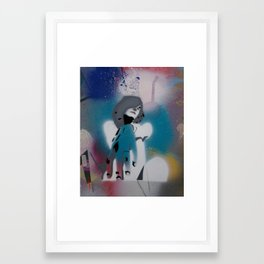 recline Framed Art Print