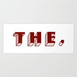 THE Art Print