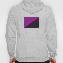 purple anarchy flag feminism symbol Hoody
