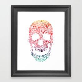 Death By Paisley Framed Art Print