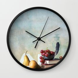 Autumn Pleasures Wall Clock