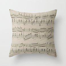 Running Waltz  Throw Pillow