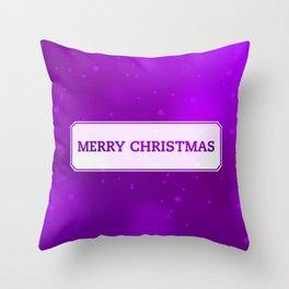 Boxed Christmas Throw Pillow
