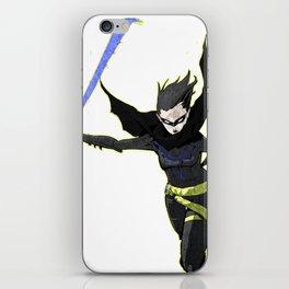 The Black Bat iPhone Skin