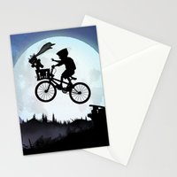 E.T Kid Stationery Cards