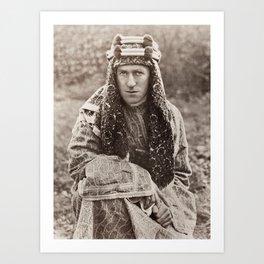 Lawrence of Arabia Portrait Art Print