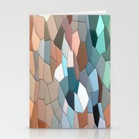 mosaic Stationery Cards featuring mosaic  by  Agostino Lo Coco