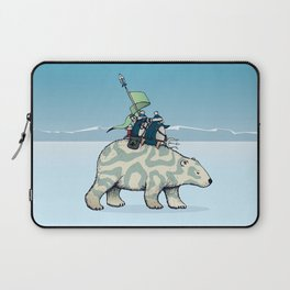 Nature warriors: From Pole to Pole Laptop Sleeve