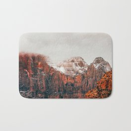 The Red Mountains Bath Mat